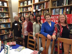 At Litquake in September 2015 with Kate Farrell of the Women's National Book Association, Kathryn Ma, Kelli Estes, myself, Janis Cooke Newman, Lucy Sanna, and Julie Park Tracey.