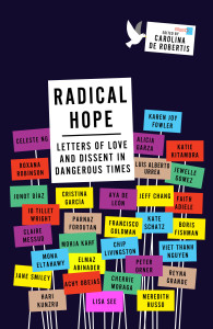 The cover of RADICAL HOPE